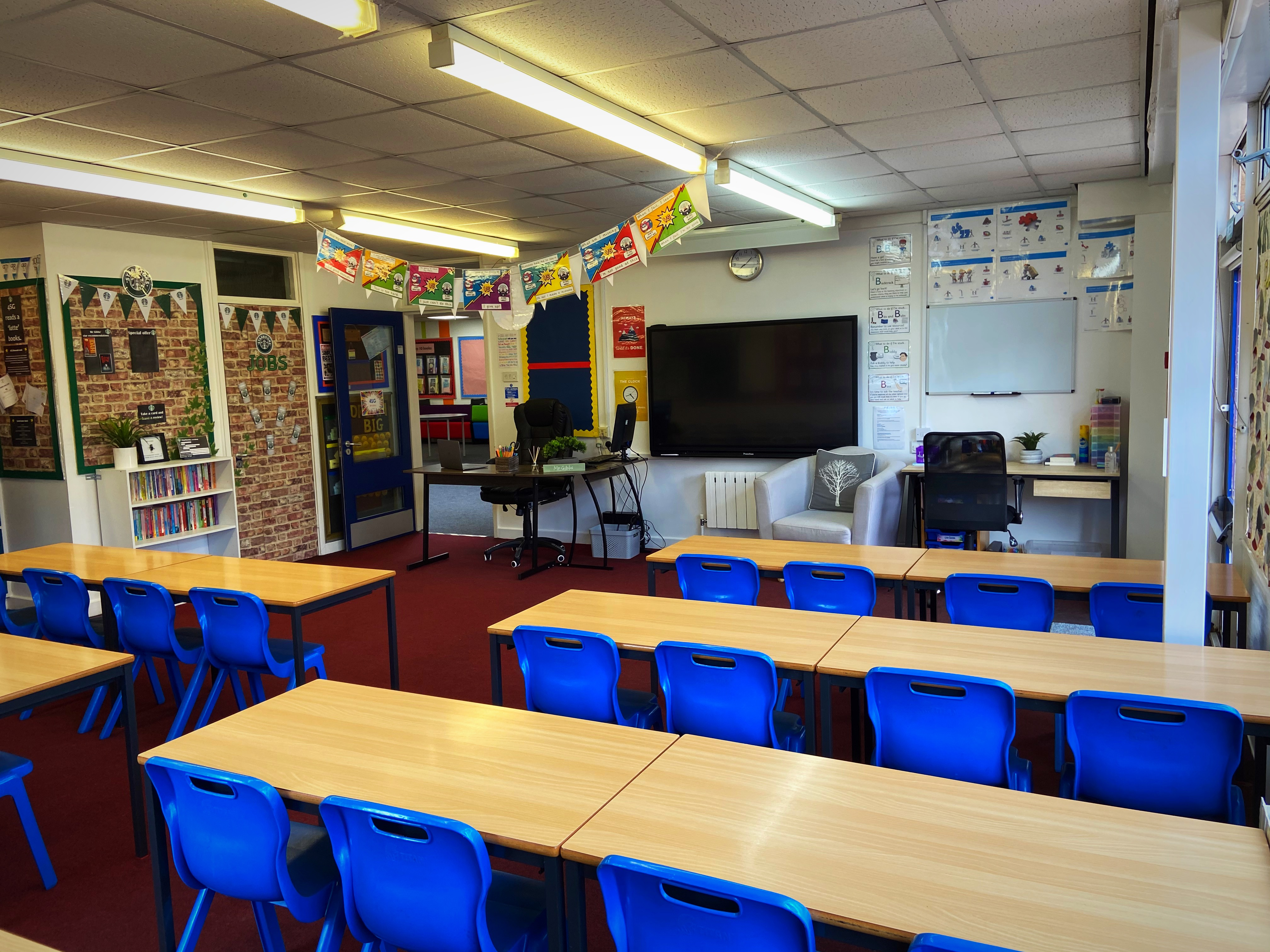 Engaging and bright classrooms