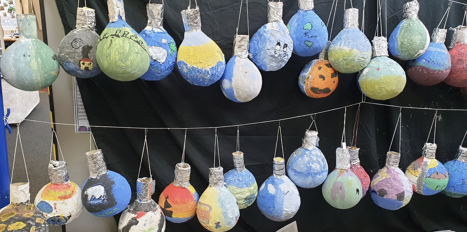 Purbrook had a week-long Climate Change focus on return from Lockdown 3. Each year group focused on a different issue and created a range of different art to express these pressing issues. See Year 6's fantastic 'Light bulb moments'.